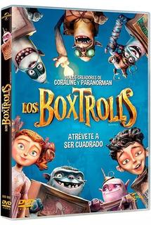 Los Boxtrolls Nick Frost, Ben Kingsley Película Dvd
