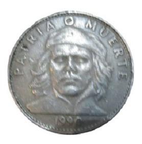 Moneda Cuba 3 Pesos Che Guvara Año 1990