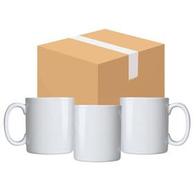 Caneca Para Sublimação Branca Caixa 12un 2aa - F10