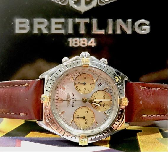 Breitling Chrono Sextant Aço E Ouro , Promocao !!