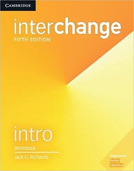 Interchange Intro - Workbook - 5th Edition - Cambridge Unive