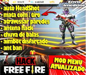 Hack De Free Fire 100% Atualizado (sem Root) Maio