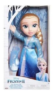 Boneca Frozen 2 - Elsa Vestido Azul Luxo 6484 Mimo