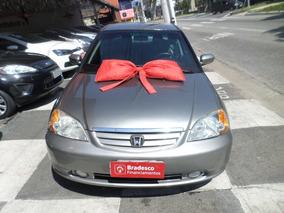 Honda Civic 2003 Automatico Carro Brindado