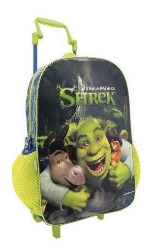 Mochila Escolar Shrek Original Tamanho Grande Colorizi