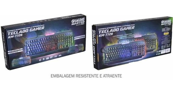 Teclado Gamer Solid Snake Km7728