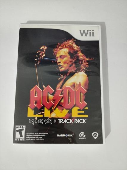 Acdc Live Rockband Track Pack - Nintendo Wii