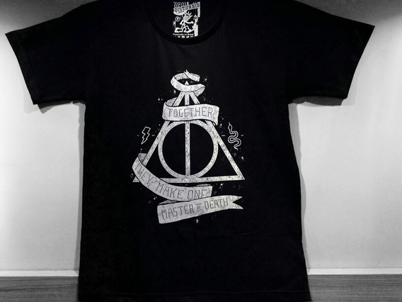 Camiseta Harry Potter Together They Make One Master Of Death