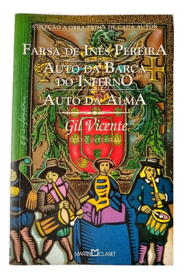 Livro - Farsa De Inês Pereira / Auto Da Barca Do Inferno