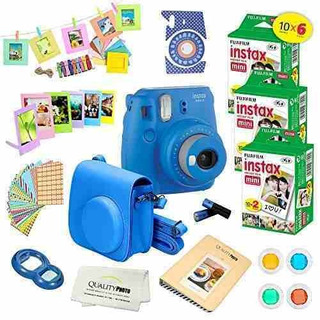 Fujifilm Instax Mini 9 Camara Instantanea Cobalt Blue Con Fu