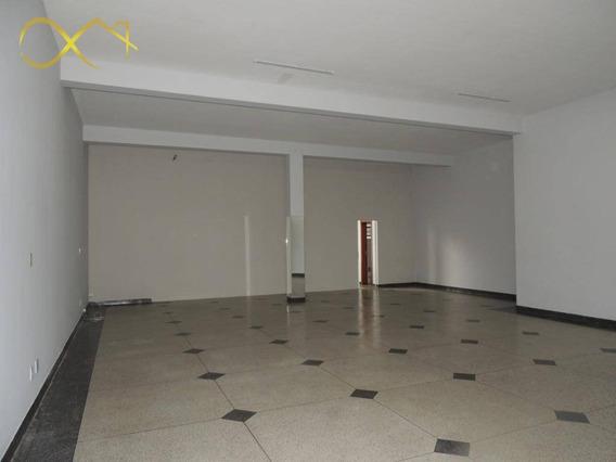 Salão Para Alugar, 159 M² - Jardim De Itapoan - Paulínia/sp - Sl0059