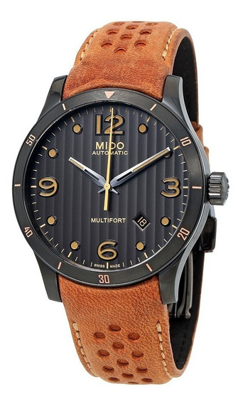 Relógio Mido Multifort M0254073606110 Anthracite Automatic