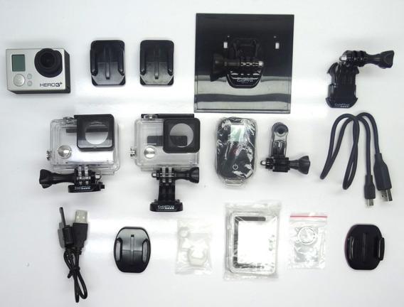 Câmera Gopro Hero3+ C/ Acessórios Wifi Não Funciona (12151)