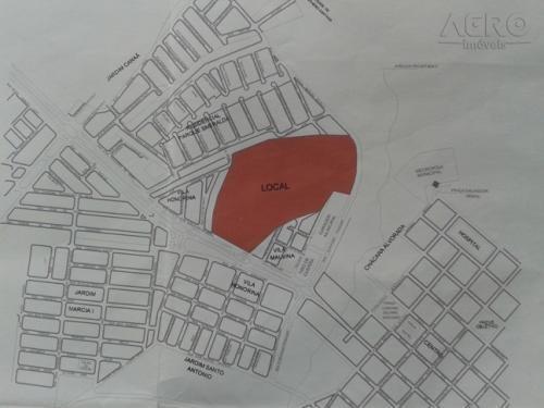 Terreno Residencial À Venda, Centro, Agudos - Te0155. - Te0155