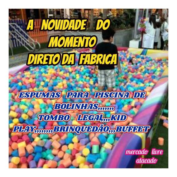 Espuma Coloridas Para Piscina De Bolinhas Kit C/2000+brinde