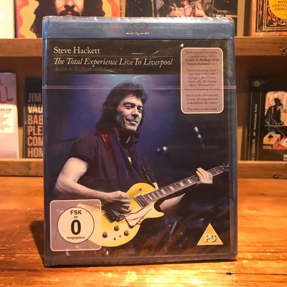 Steve Hackett Total Experience Live In Liverpool Blu Ray