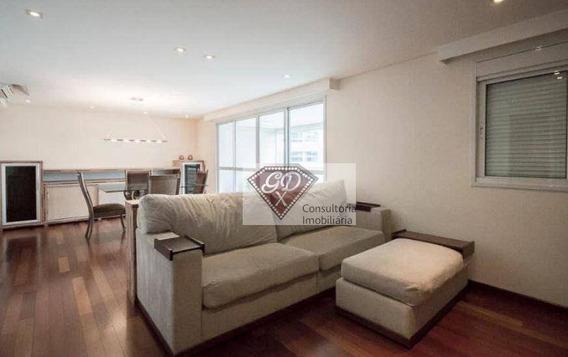 Apartamento Com 2 Dormitórios, 111 M² No Brooklin Com 2 Vagas - Ap15165