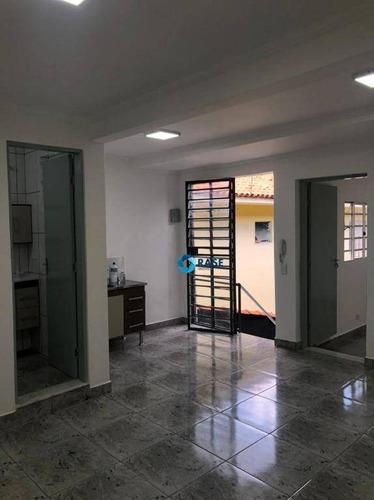 Sala Para Alugar, 35 M² Por R$ 1.200,00/mês - Socorro - São Paulo/sp - Sa0118