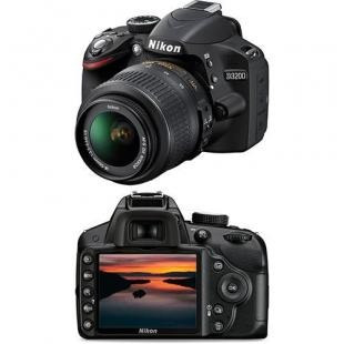 Kit Nikon D3200 + Lentes + Mochila + Tripé