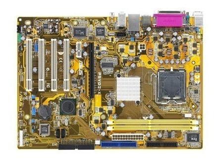 Placa Mãe 775 Asus P5vd2-x Onboard Aceita P4/dual Core 2 Duo