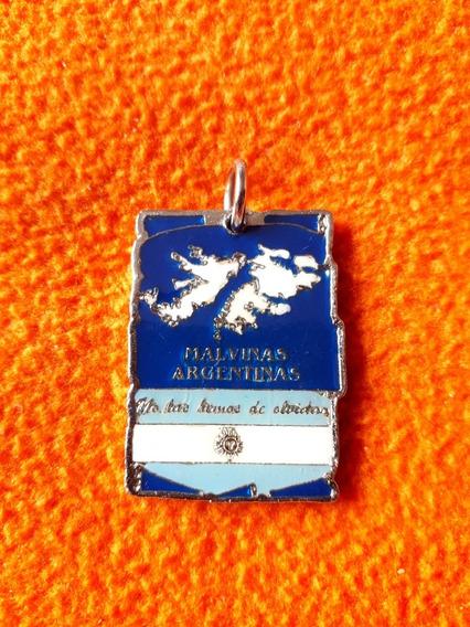 Medalla Con La Marcha De Las Islas Malvinas