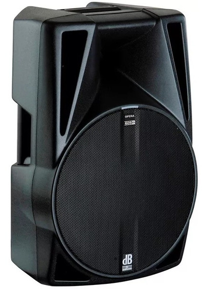 Caixa De Som Amplificada 900w Rms Db Technologies Opera 605d