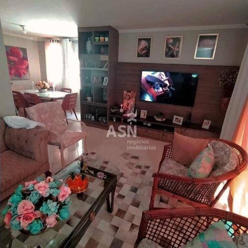 Casa Com 3 Dormitórios À Venda, 120 M² Por R$ 450.000,00 - Ouro Verde - Rio Das Ostras/rj - Ca0786