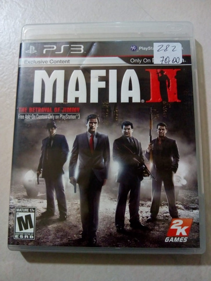 Mafia 2 Ps3 Mídia Física