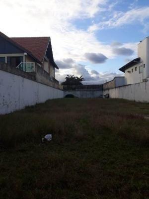 Terreno Em Frente Para O Mar Em Rua Calçada Em Itanhaém - 0075-t