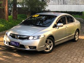 Honda Civic Exs Automatico Top Linha Bancos Couro Lindo