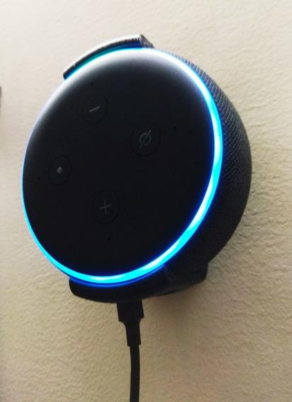 Suporte Apoio Stand De Parede Amazon Alexa Echo Dot 3