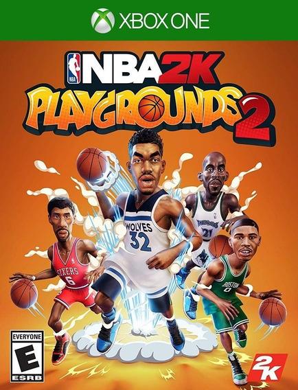 Nba 2k Playgrounds 2 Xbox One - Envio Rápido (25 Dígitos)