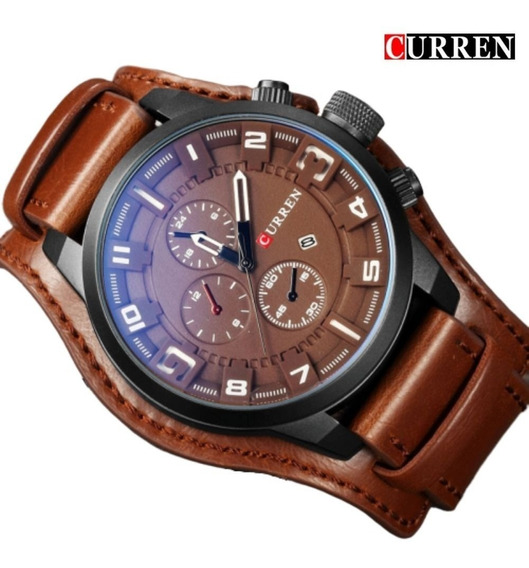 Relógio Masculino Curren 8225 Quartzo Á Prova D