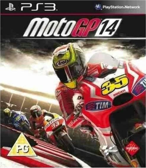 Moto Gp 14,ps3,midia Digital,em Português,jogo Completo