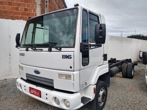 Cargo 816/12/13 Branco No Chassis