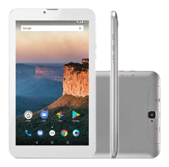 Tablet Multilaser Nb284 M9 8gb 9 3g Wi-fi Dual Chip Prata