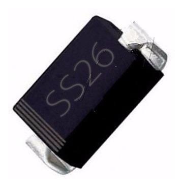 Diodo Smd Ss26 2a/60v - Lote 10 Unidades