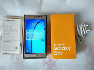 Samsung Galaxy On7 Quad Core 1.2ghz C/ 8gb Tela 5.5 Usado!