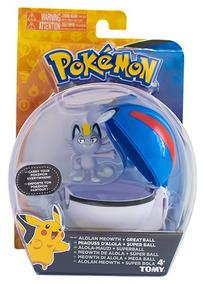 Brinquedo Pokémon Pokebola Meowth Sunny 1971