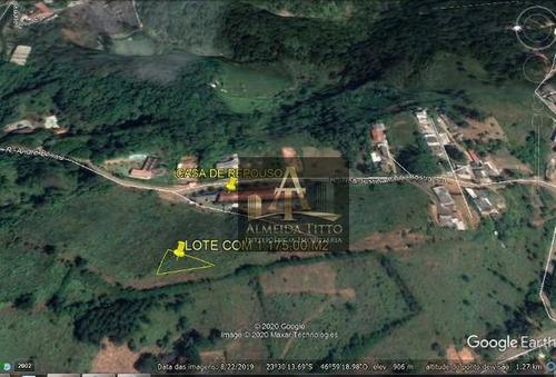 Excelente Terreno À Venda Em Santana De Parnaíba  Terras De San Nicolau  1.175 M²- Confira! - Te0506