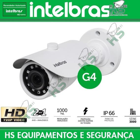 Câmera Ahd 720p Analógica 1000 Vm 3120 Ir G4 Intelbras (g3)