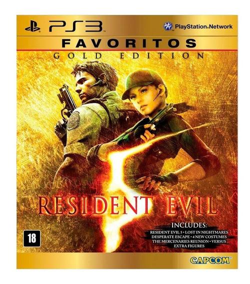Resident Evil 5 Gold Edition Ps3 Midia Digital Codigo Psn