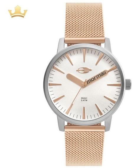 Relógio Feminino Mormaii Mo2036hy/4k Com Nf