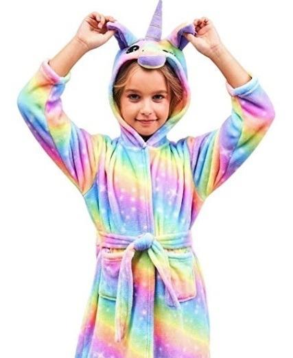 Abrigo - Salidas Unicornio Para Niñas