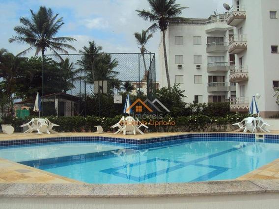 Apartamento Com 2 Dormitórios À Venda, 70 M² Por R$ 280.000,00 - Massaguaçu - Caraguatatuba/sp - Ap0042