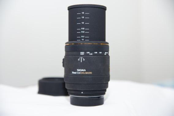 Lente Sigma 70mm F/2.8 Macro (nikon)