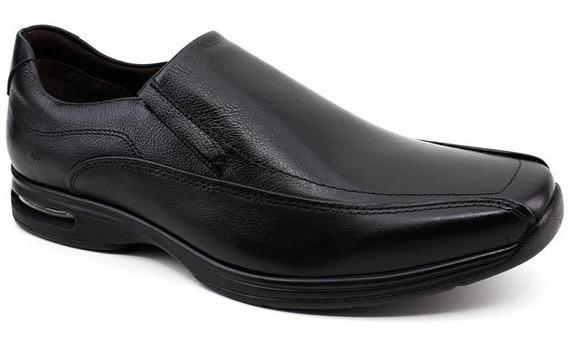 Sapato Preto Democrata Air Spot Original 448027 Loja Pixolé