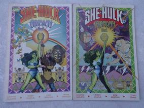 She-hulk - Ceremony - 2 Edições - Dwayne Mcduffie - 1989