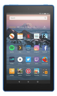 "Tablet Amazon Fire HD 8 KFKAWI 8"" 32GB marine blue con memoria RAM 1.5GB"