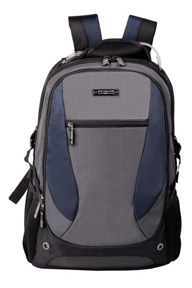 Mochila Escolar Reforzada Porta Notebook Quaglia Q303 Cuotas